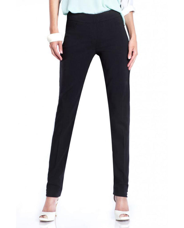 SlimSation M2604 Black Classic Narrow Long Pants