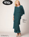Ursula 61215 Tiered Dress With Jacket teal mother of the bride dress with jacket