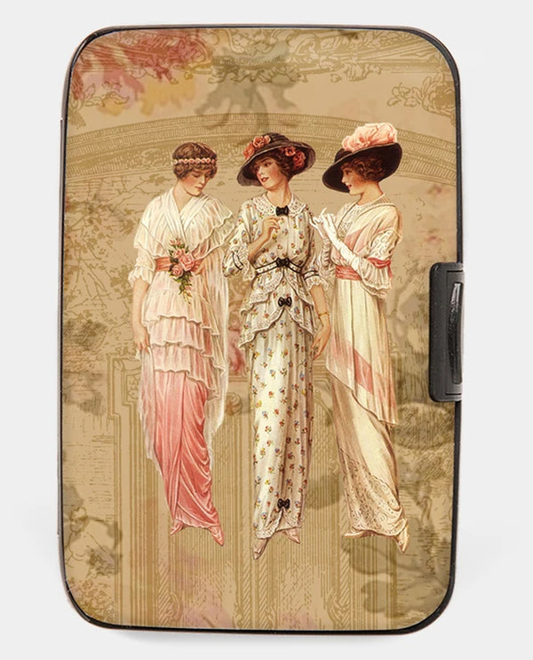 Victorian Ladies Armored Wallet