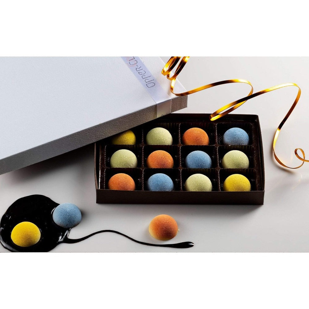 Soft Frozen Chocolates assorted 12 pcs. - Upper Class Chocolate