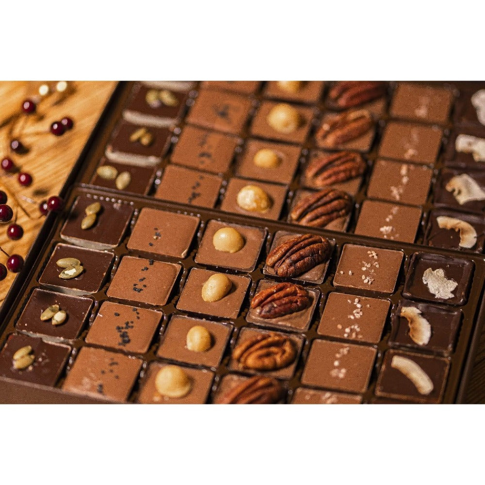 Build Your Own Caramel Box (48 pcs.) - Upper Class Chocolate