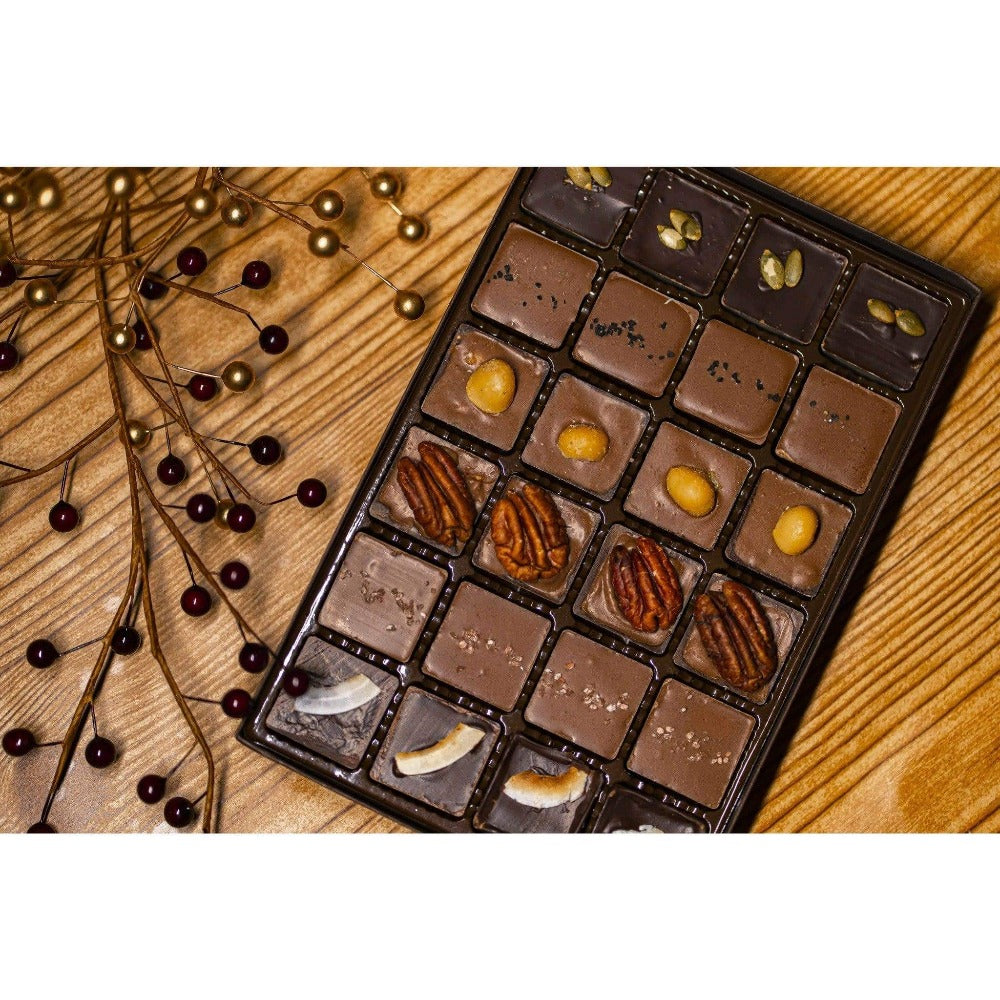 Build Your Own Caramel Box (24 pcs.) - Upper Class Chocolate