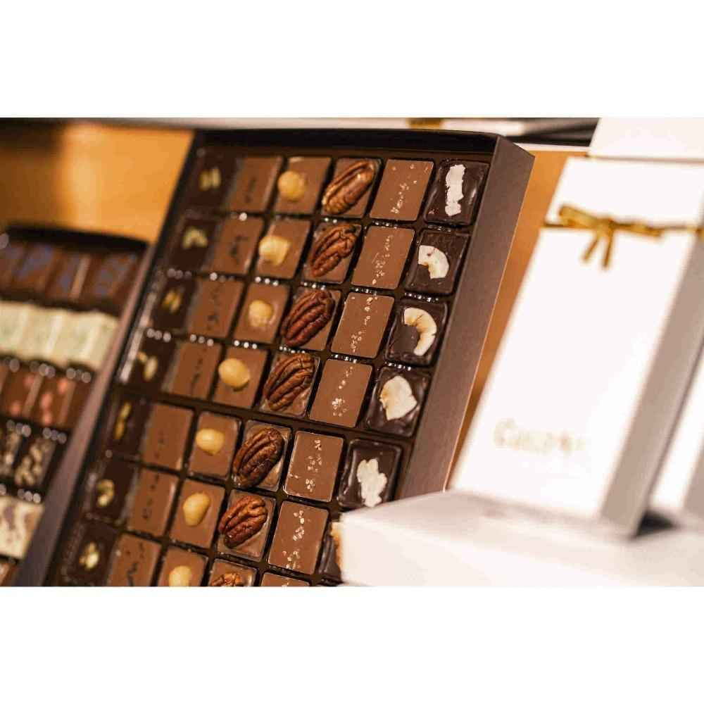 Double Dozen Customized Chocolate Truffle Box