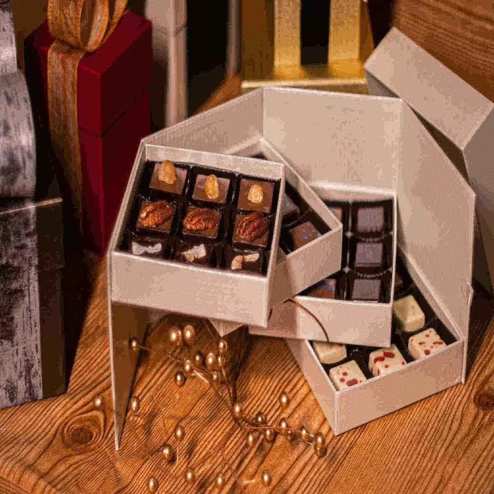 Four Tier Box Gourmet Chocolate