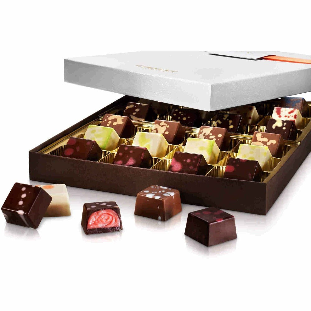 Build Your Own Luxury Chocolate Truffle Box (24 pcs.) - Upper Class Chocolate