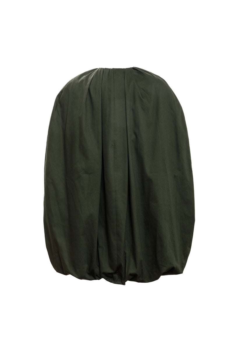 OVOID CAPE (Forest green)