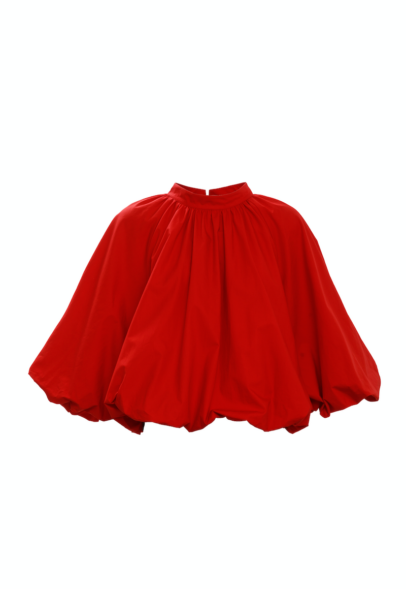 Cape Detail Top (Red)
