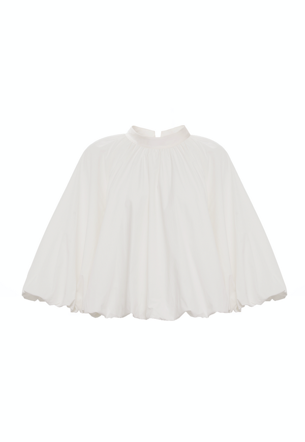 Cape Detail Top (White)