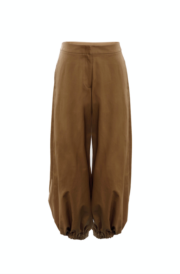 Drawcord Trousers (Camel)