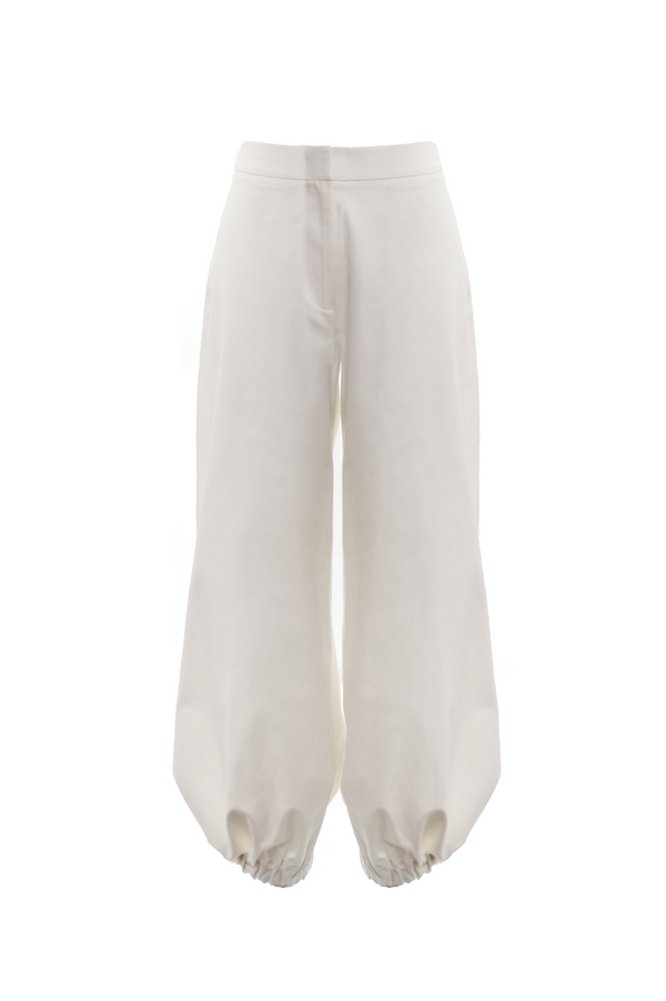 Drawcord Trousers (Ivory)