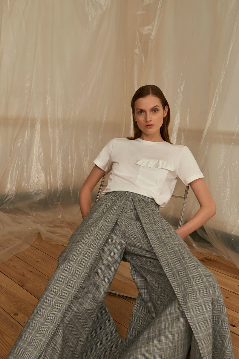 Oversized Aline Culottes (POW Check)