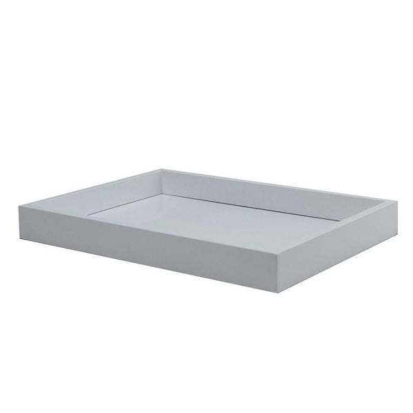 Lacquered White Small Tray