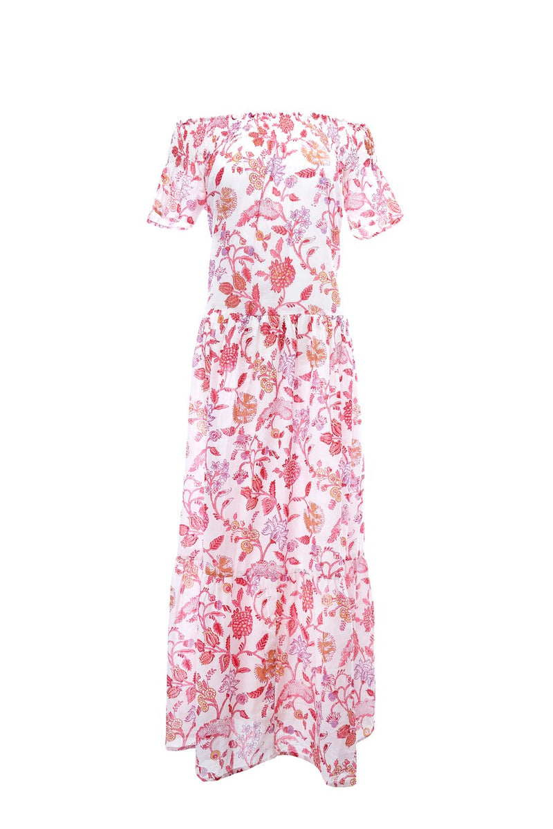 Momposina Garden Pink Dress