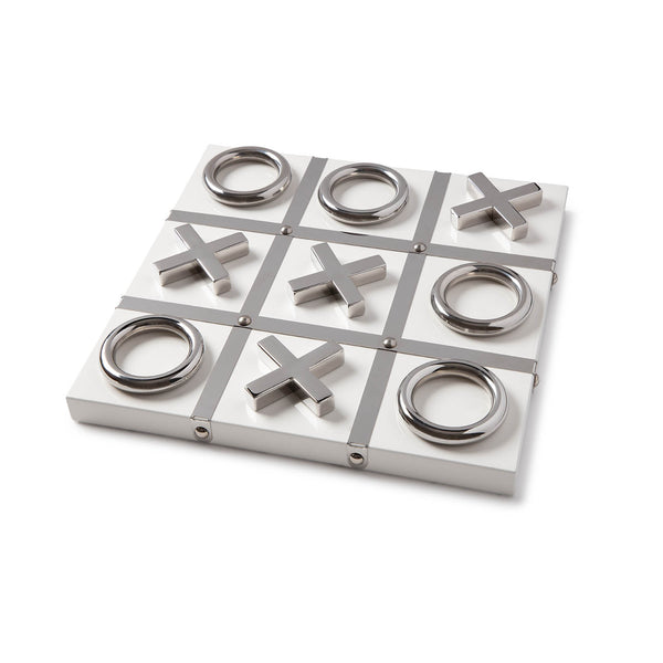 Tic Tac Toe White/Silver