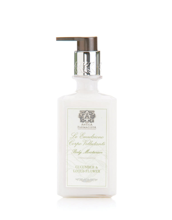 Antica Farmacista Cucumber & Lotus Flower Body Moisturizer