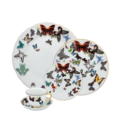 Butterfly Parade 5 piece dinner set by Christian Lacroix