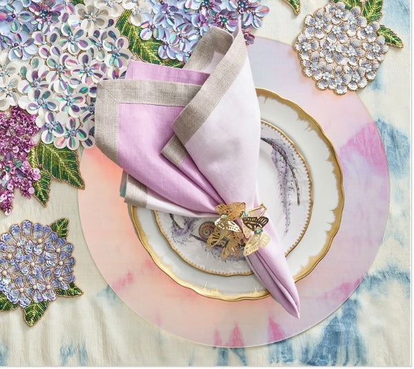 Hydrangea Table Runner in Multi