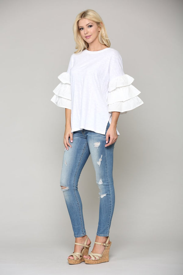 Camryn Top White