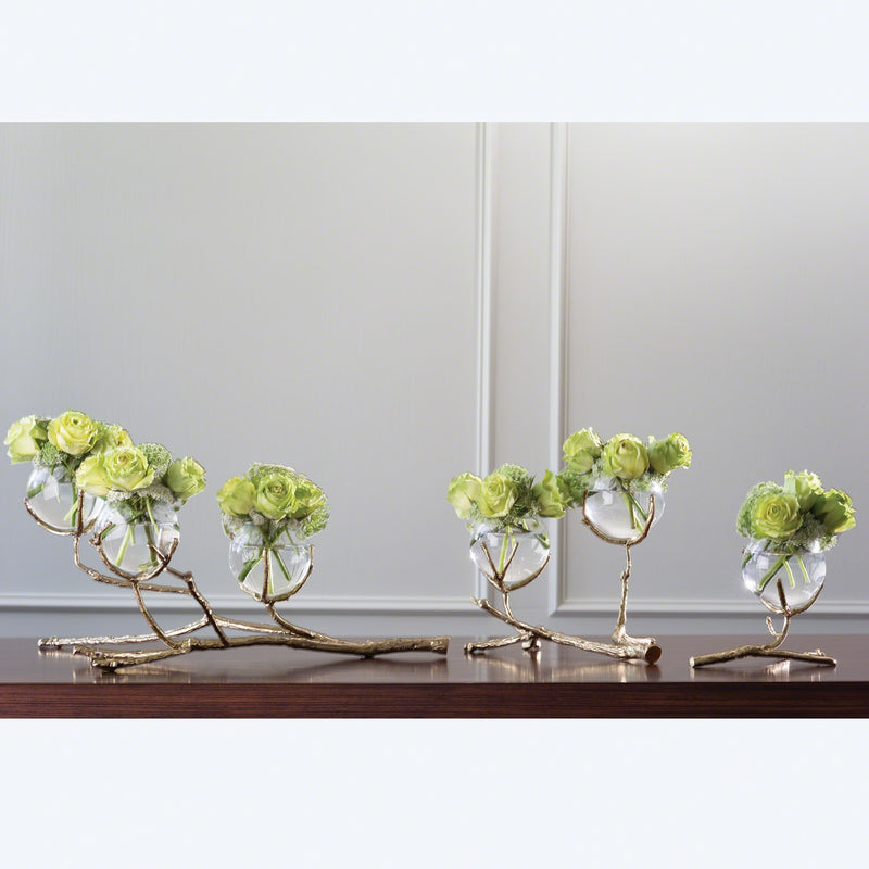 Twig Vase Holder— 3 Vessel