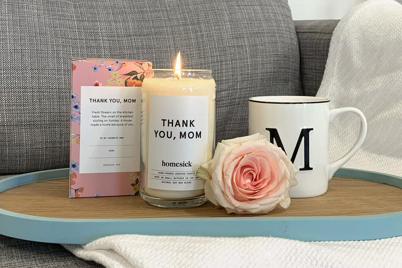 THANK YOU MOM Candle by Homesick