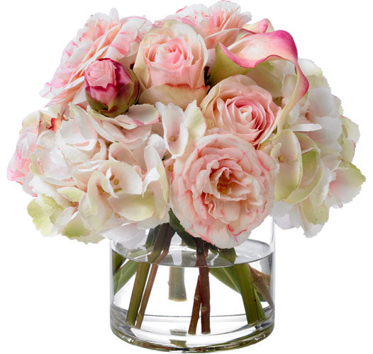 Diane James Pretty in Pink Bouquet in Faux Flowers