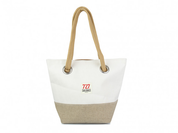 Legende Handbag Linen and Leather