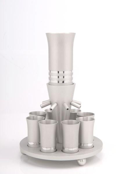 Agayof Wine Fountain with 8 cups