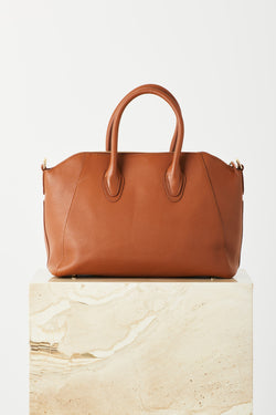 Shaz Contemporary Tote in Tan or Grey