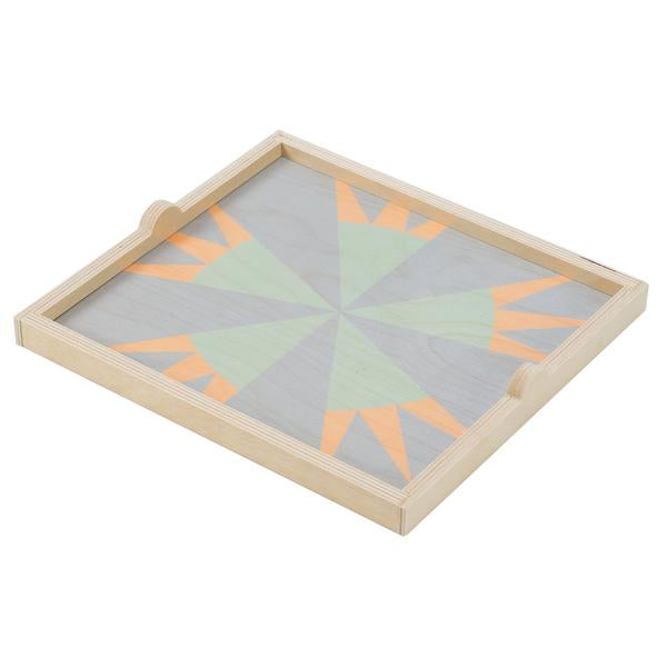 The Star Pastel Square Tray