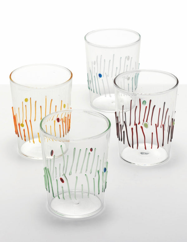 Quattro-Stagioni Set of 4 glasses