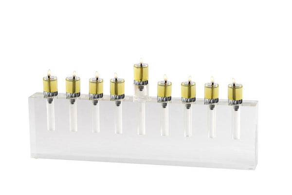 Oil Menorah White