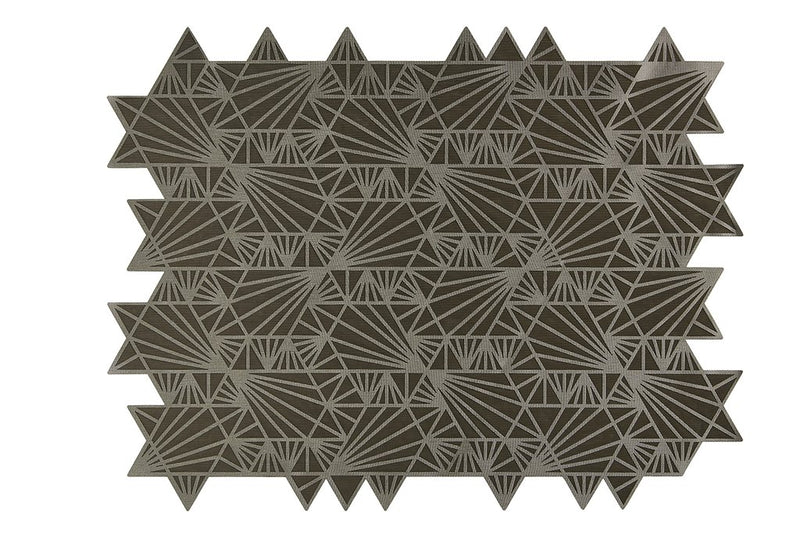 Challah Cover Maguen David Taupe