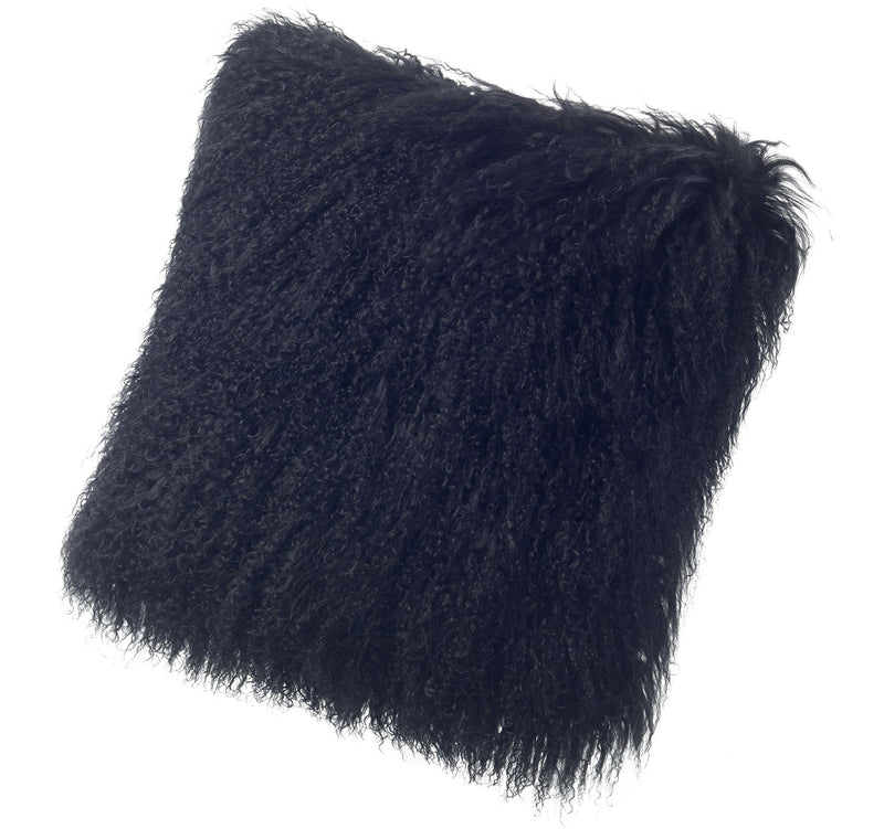 "Tibetan Sheepskin Pillows 11"" x 22"""