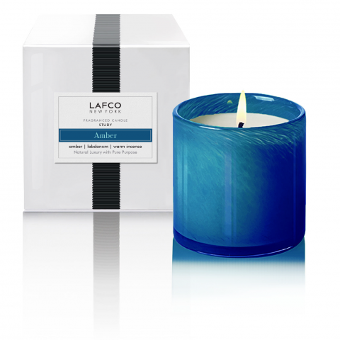 Amber Study Lafco Signature Candle