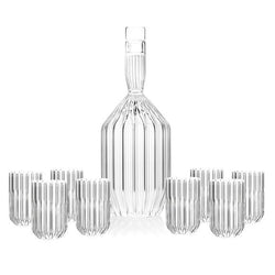 Margot Decanter and 8 Dearborn Mini Shot Glasses