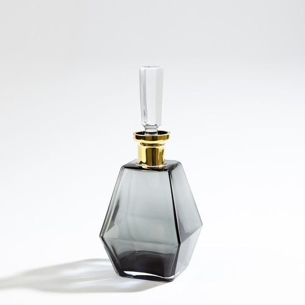 Prism Decanters—Gold