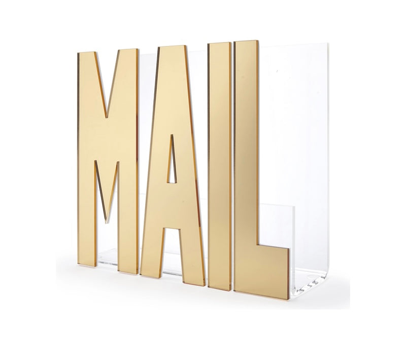 MAIL Holder — Gold Mirror