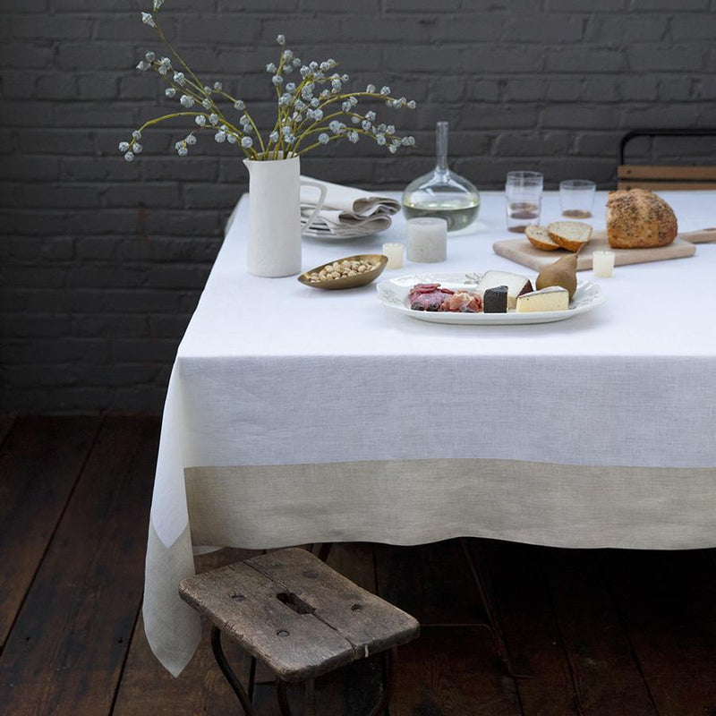 Hamptons Tablecloth Easy Care