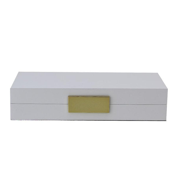 Jewelry Box White and Gold