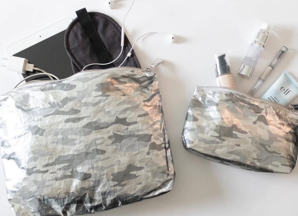 Metallic Silver Camo — set of 2 Packs