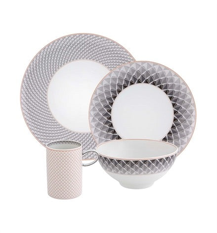 Maya Collection — 4 piece dinner set