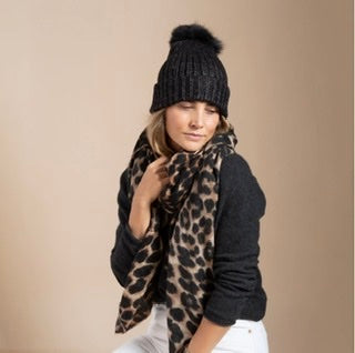 Leopard Scarf by Hat Attack