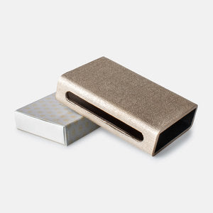 Luxury Matches in Faux Shagreen & Linen