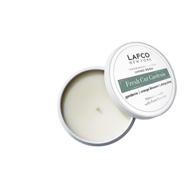 Fresh Cut Gardenia Travel Candle by Lafco