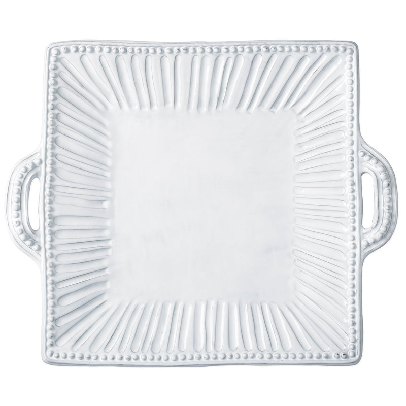 Incanto Stripe Square Handled Platter