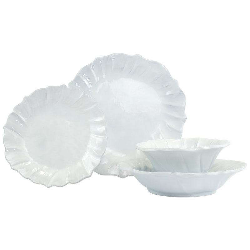 Incanto Ruffle Four-Piece Place Setting