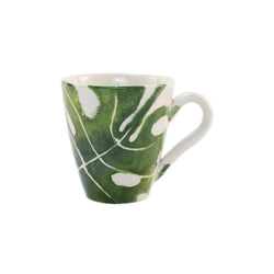 Into The Jungle Monstera Leaf Mug