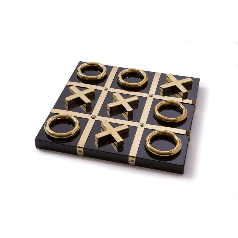 Tic Tac Toe Black/Gold