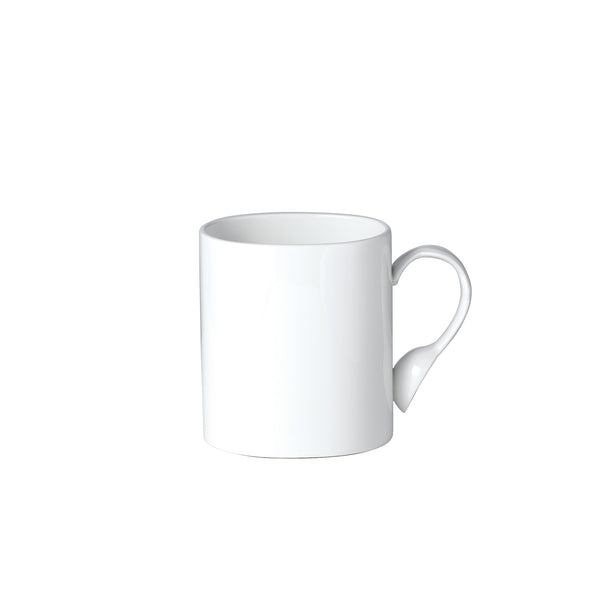 Cutlery Oval Mug with White Handle
