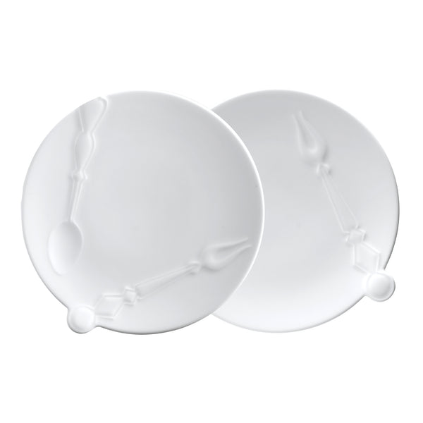 Cutlery Set of Two Appetizer Plates
